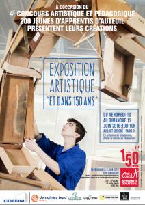 Exposition Artistique d'Apprentis Auteuil