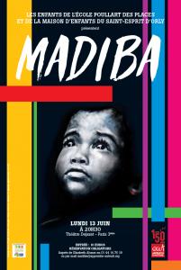 Madiba 13 juin au theatre Dejazet