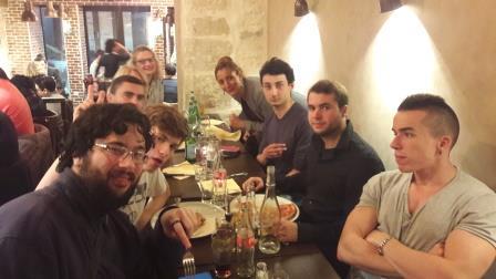 Cézanne et moi élèves de BTS