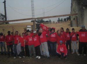Chantier de solidarité Argentine