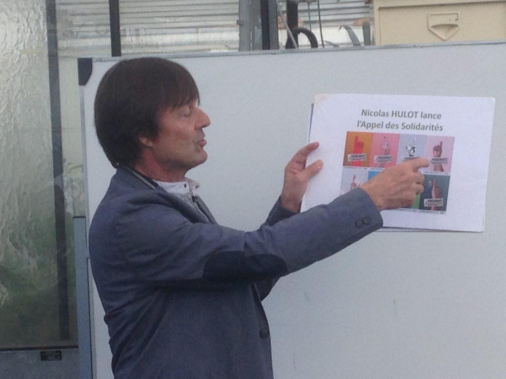 Nicolas Hulot Appel aux Solidarités