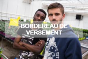 Bordereau de versement de la taxe d'apprentissage 2020 à un établissement éligible de la fondation Apprentis d'Auteuil en Ile-de-France